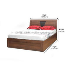 wooden double bed designs for apartments Famous home Queen modern wood