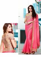 Wholesale indian designer saree in surat\all types of indian sarees\saree blouse hand designs