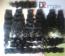 Real Natural Unprocessed Remy Raw Indian Virgin Human Hair Straight wavy Curly Over Night Supplier