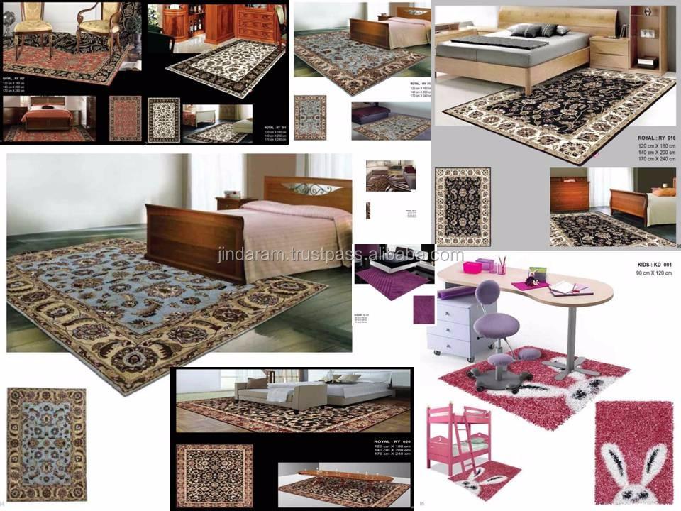 Handtufted pure cotton pile carpets for 5star hotels.JPG