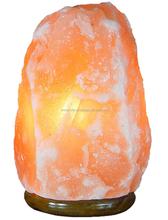 Cristallo di sale himalayano ionici naturale rock lampada di sale 14 ~ 17 £ purificare l'aria