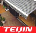 resistente a la intemperie caravana toldo de tela proveedor japonés