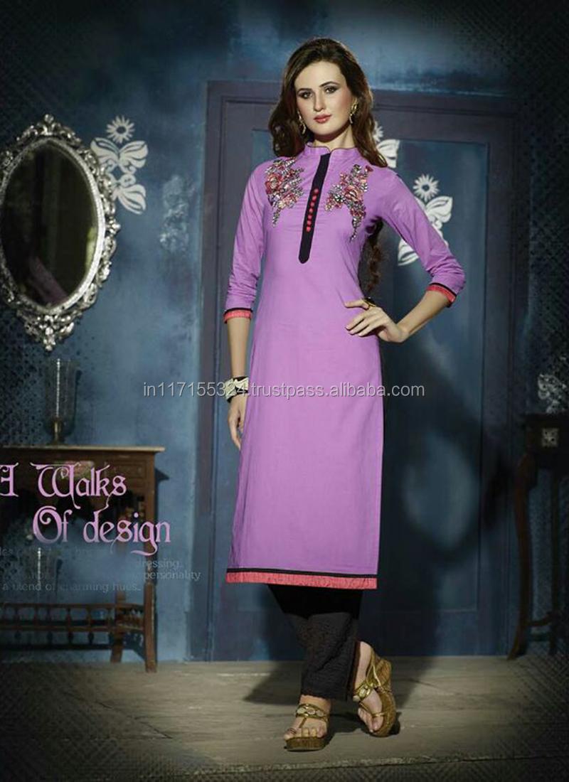 Trendy Long Kurti-online Wholesale Clothes-indian Women Clothing ...