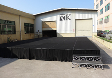 Aluminum modular concert stage ,event stage , non-slip portable stage for sale