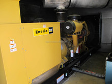 Diesel generator on skid