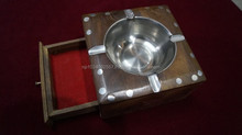 Wooden Ashtray/ Nepal/Portable/ Inches/ Fine Quality/A2