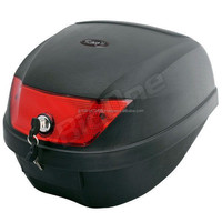 Various colors of easy attachment motorcycle top case for full-face helmets