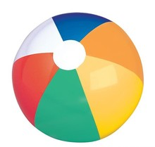 "12"" MULTICOLORED BEACH BALL"