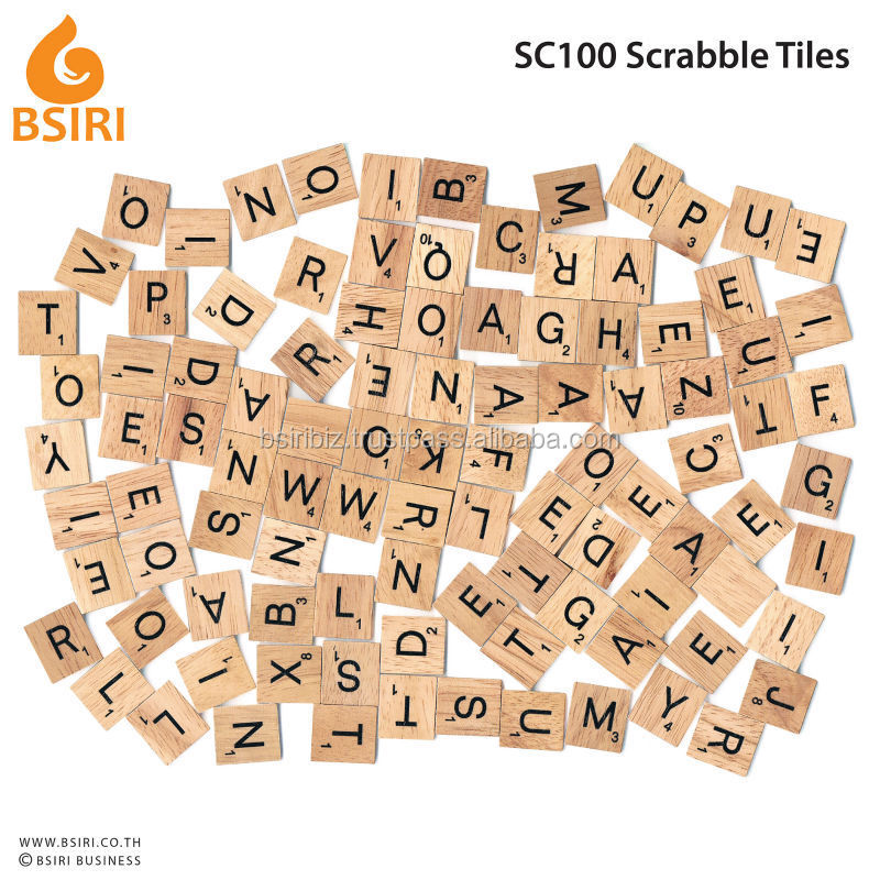 Wooden letter for craft black font scrabble tiles buy for Small wooden letters for crafts