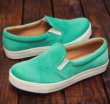 Panchas Slip-on Alpargatas Argentine Genuine Leather Sneaker Shoes