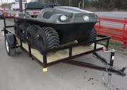 Argo 8x8 Frontier EFI ATV / UTV Amphibious - Utility Trailer Package Deal
