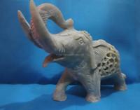 Stone Carving Soapstone Undercut Elephant Manufacturers