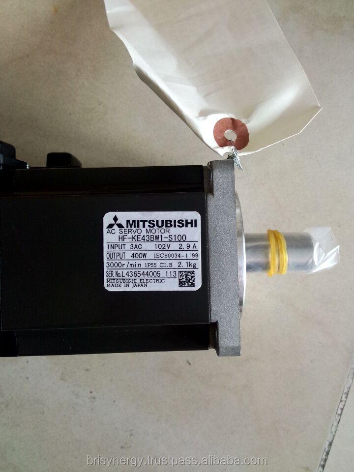 Mitsubishi 400w Servo Motor Hf Ke43bw1 S100 Mitsubishi