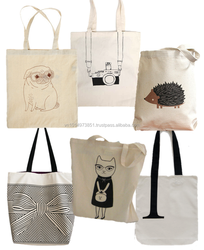 Affordable Canvas Tote Shopping Bag For Gift