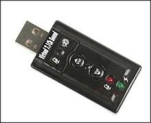 Usc71 USB Sound Card USB Sound Adapter 7.1 Channel-Usb