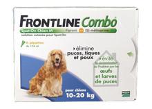 frontline spot for medium dogs