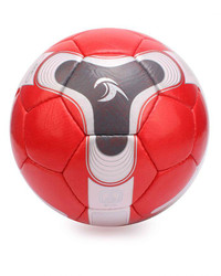 Tpu/Pvc/Pu High Quality Red and White Kicker Hand Made Football Available in All Size's