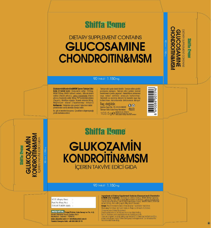 Glocosamine Label