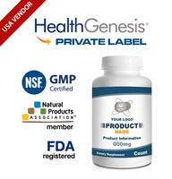 GABA 500 mg Capsules Enhanced as Naturally Occurring from NSF GMP USA Vendor