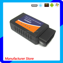 Bluetooth Auto Diagnostic Tool OBD2 OBDII ELM327 V1.5 Bluetooth Car Interface Scanner Compatible with Torque Pro, Lite