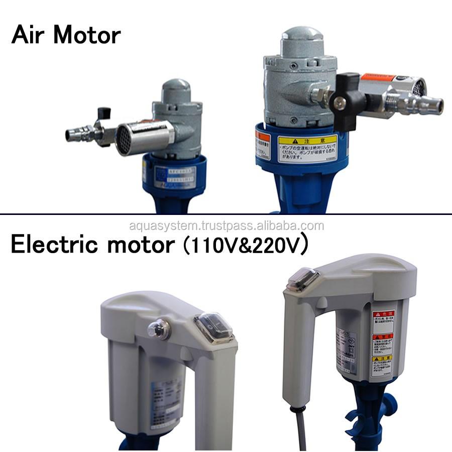 Motor air or electric