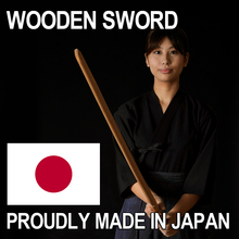 Top quality self defense art training weapon made in Japan wooden sword white oak OEM available
