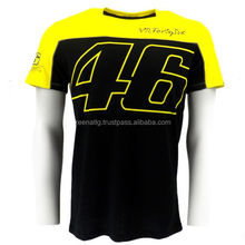 2015 New Men's Clothing 100% Cotton MOTO GP Rossi Luna VR 46 T-Shirt Motorcycle Racing T-Shirt Personality Summer Casual T shirt