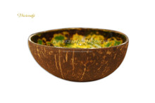 Charming real vietnam coconut bowl for home nature inspired vietnam coconut shell bowl cheap price and high quality