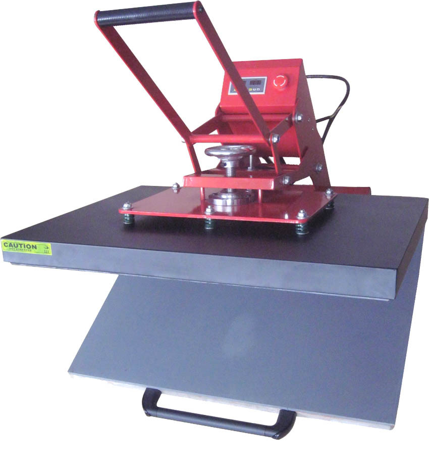 Large format heat press t shirt thermal transfer machine for Heat pressing t shirts
