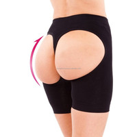 Women Seamless Butt Lifter Panty With Box Push Up Panties Tummy control Lift Up Buttocks Boyshort Shape