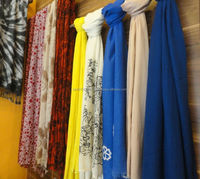 Pure Cashmere Knitted Hand Work Scarves Shawls