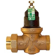 "Zurn Wilkins 1-NR3XL Water Pressure Reducing Valve with Integral Straine, 1"", Lead-Free"