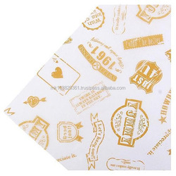 Hamburger Wrap!! Greaseproof Paper Wet Strength food grade prime class material