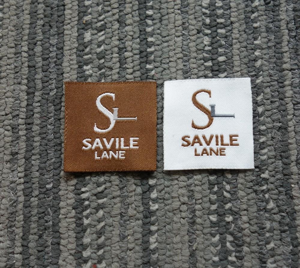 high density woven label