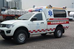 Mitsubishi Triton Ambulance Made in Thailand