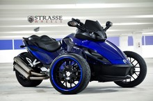 Latest Offer For Strasse Wheels - Can Am Spyder RS - Signature Series SM8