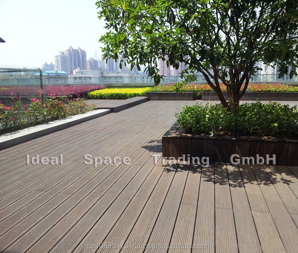 Bamboo outdoor flooring for Bamboo flooring outdoor decking