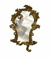 Wood Carving Frame Decorative Wall Mirror