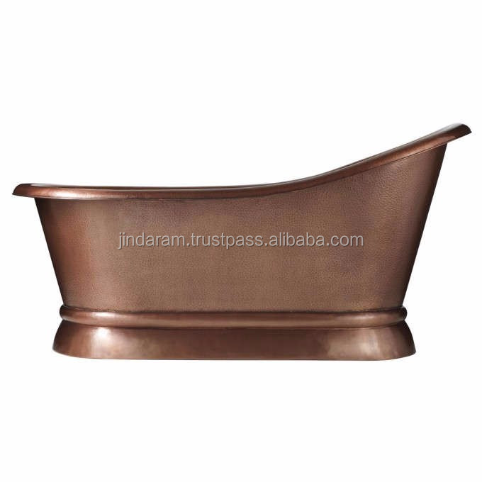 Vintage Brown Copper Bath Tub.jpg