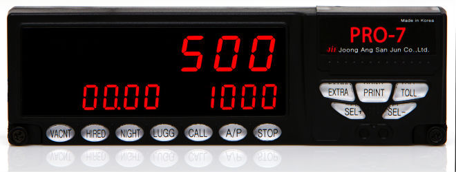 Taxi Meters Purchase : Pro digital taximeter fare meter taxi