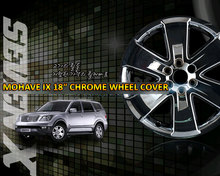 """[7X] KIA Mohave / Borrego - Chrome Wheel Cover Set 18"""" - 4 PCS 1 Set"""