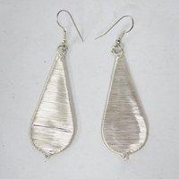 Silver Tone Belly Dancing Metal Hoop Earring Set Indian Women Party Wear Costume jewellery Gift SE924