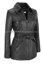 Leather Coat Women