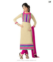 Plain Cotton High Class Salwar Kameez Dresses Material Suit