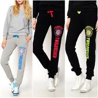 2015 NEW Trendy sweatpants Loose Joggers Sport Gym Pants Plus Size Trousers 6336