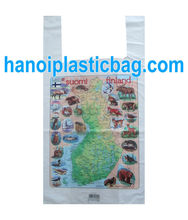 Polyester, HDPE Material and Handled Style shopping bag