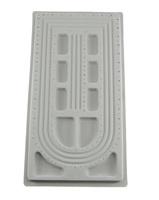 490x265x16mm grey Plastic Bead Design