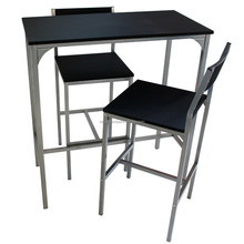 Table Set with 2 Bar Stools, High Quality Cheap Bar Table Set