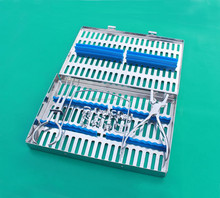 Rubber Dam 10 Pieces Set Up,Clamps,Ainsworth Forceps,Frame,Case/Rubber Dam Instruments/Dental Instruments