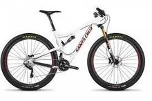 Discount Offers Santa Cruz Bicycles Blur Tr Carbon Spx XC Complete Mountain Bike White, XL